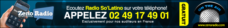 Radio So'Latino French banner